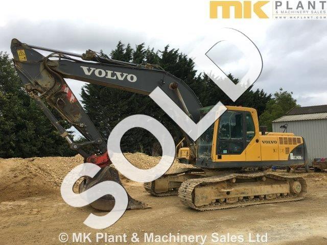 07 volvo ec240b lc tracked excavator mk plant rh mkplant com Volvo Excavator Interior Volvo 700 Excavator