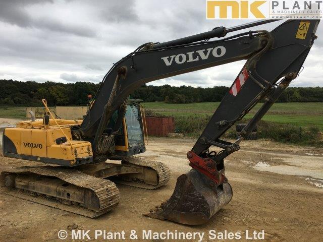 07 volvo ec240b lc tracked excavator mk plant rh mkplant com Volvo Hydraulic Excavators with Thumbs Volvo 140 Excavator
