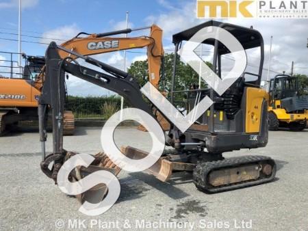 14 Volvo EC18C Mini Excavator - MK Plant